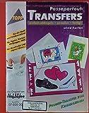 Passepartout-Transfers. Einfach abbügeln, anmalen, fertig! TOPP