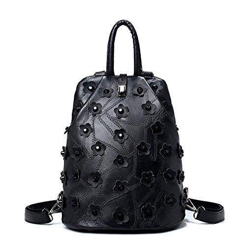 moda-mosaico-zaino-fiore-moda-borse-anti-furto-satchel-a
