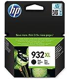 HP 933XL Gelb Original Druckerpatronen mit hoher Reichweite für HP OfficeJet 7510, 7612, 7110, 6700, 6100, 6600, Schwarz, XL