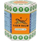 3x 30 G. White Tiger Balm Herbal Medicated Muscular Analgesic Ointment Inhalant Made in Thailand