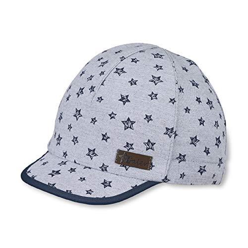 Sterntaler Schirmmütze für Jungen mit Sternchen-Muster, Alter: 18-24 Monate, Größe: 51, Rauchgrau