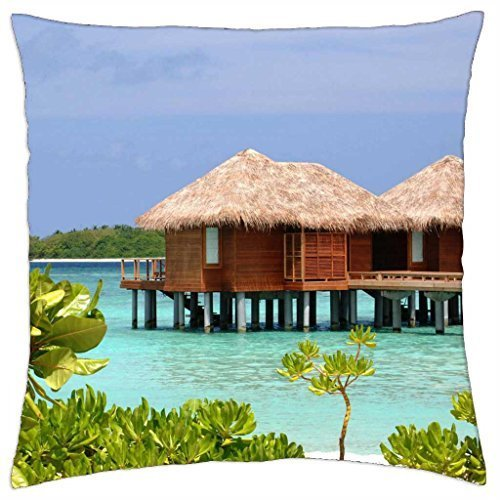 sheraton-full-moon-resort-maldives-water-bungalows-throw-pillow-cover-case-18-x-18