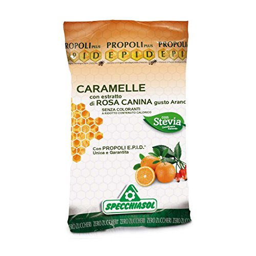 SPECCHIASOL - EPID CARAMELLE PROPOLI - ROSA CANINA SFUSE 1 KG