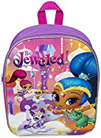 Children Kids Shimmer and Shine Purple Junior Backpack