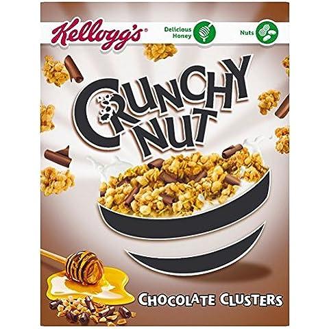 de Kellogg Crunchy Nut Clusters chocolate 450g