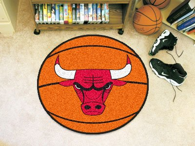 NBA Chicago Bulls, mit Basketball-Form