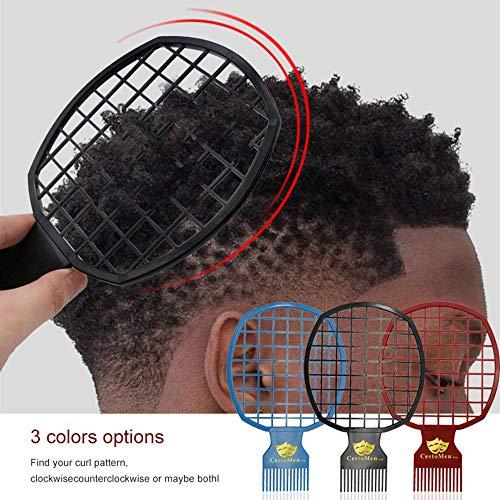 Womdee Twist It Up Kamm, Twist Haar in wenigen Minuten für lockiges Haar & Twist Hair & Dreadlocks & Haar-Webart, Tragbarer Es Verdreht Haare kämmen für den professionellen oder persönlichen Gebrauch