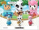 Animal Crossing Series 3-Pack Amiibo (Animal Crossing Series) by Nintendo