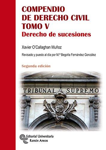 Compendio de Derecho Civil Tomo V (Manuales)