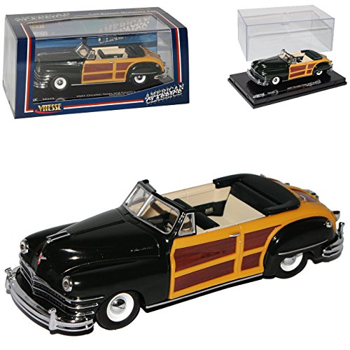 chrysler-town-and-country-cabrio-dunkel-grun-1947-1-43-vitesse-modell-auto