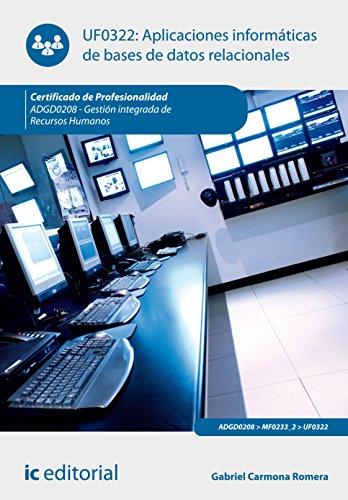 APLICACIONES INFORMATICAS DE BASES DE DATOS RELACIONALES ADGD0208