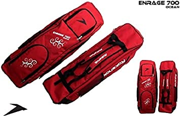 Rakshak Enrage 700 Ocean Hockey Stick Holdall for 5 sticks with player accessories - Full Size (Colours May Vary)