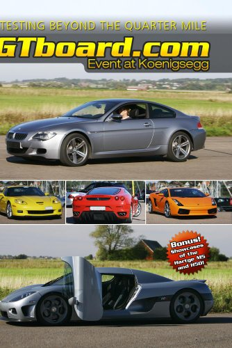 Preisvergleich Produktbild gtboard.com: Event at Koenigsegg; DVD NTSC-version