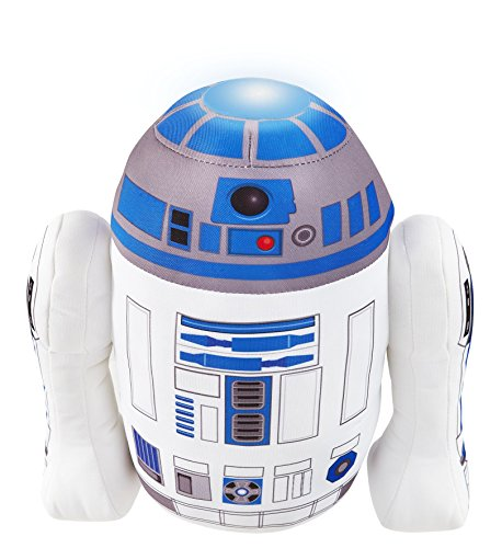 Star Wars R2D2 Plush Pal Night Light Soft Toy by Go Glow