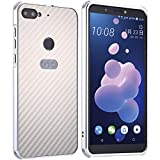 TAITOU HTC Desire 12Plus Case, Shiny Awesome Carbon Fiber