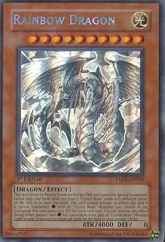 Yu-Gi-Oh! - Rainbow Dragon (TAEV-EN006) - Tactical Evolution - 1st Edition - Ghost Rare by Yu-Gi-Oh!