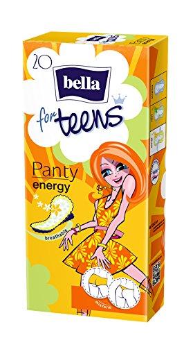 Bella for Teens Slipeinlagen Energy, 7er Pack (7 x 20 Stück)