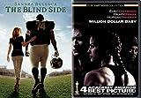 Homeless Teen & A Girl Boxer 2 Films: Blindside True Story Sandra Bullock & Million Dollar Baby DVD Sport Movie Set