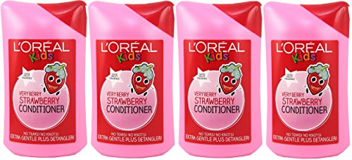 4x-loreal-paris-kids-very-berry-strawberry-conditioner-250ml