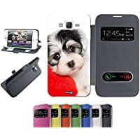 CASELABDESIGNS FLIP COVER CUSTODIA CUSCINO DOG PER SAMSUNG GALAXY J5