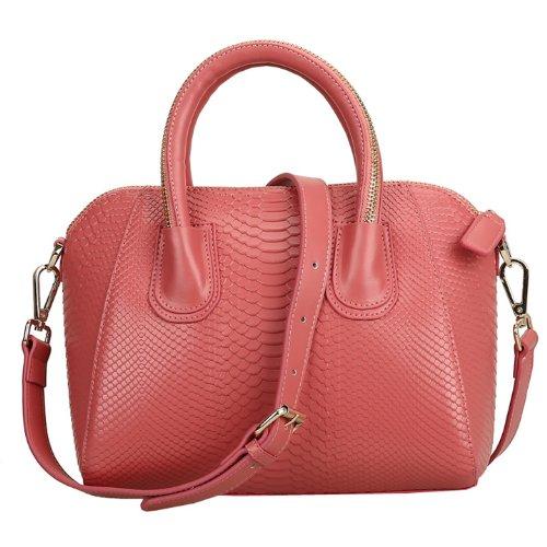 Valin Q0192 donna Borse a spalla,Borse a tracolla29x24x16 cm (B x H x T) Red