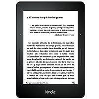 E-reader Kindle Voyage, pantalla de 6'' (15,2 cm) de alta resolución (300 ppp), con luz integrada autorregulable, pasos de página rediseñados de Amazon