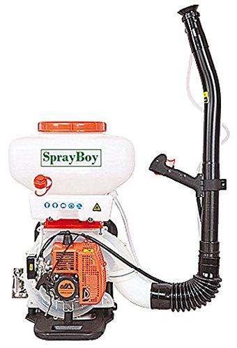TECNOSPRAY Sprayboy AT40 Atomizzatore a Spalla, Bianco/Arancio