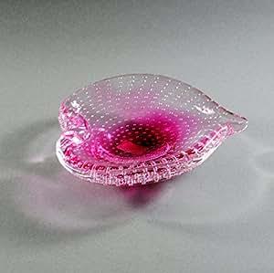 Badash Murano style Art verre, Cendrier, deco4sale en verre 20cm