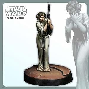 Knight Models - Star Wars miniature model kit Leia Organa 30 mm