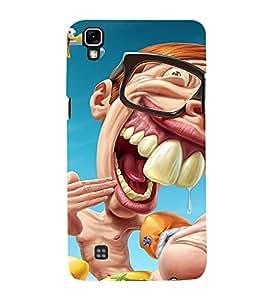 Fuson Designer Back Case Cover for LG X Power :: LG X Power K220DS K220 ( Sweet Animated Teddy Spider Rhino Tiger Tatto )