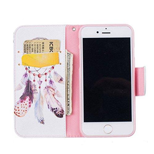 """iPhone 7 Coque, ONLY pour 4.7"""" iPhone 7 Housse - MYTHOLLOGY avec Support Housse PU Cuir Étui à rabat Portefeuille Antichoc Cover - THD YMFL"""