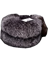 55b9c5c7f531 Ysting Mongolian Véritable Fox Women Fur Hat avec Tail style russe chapeaux  d hiver