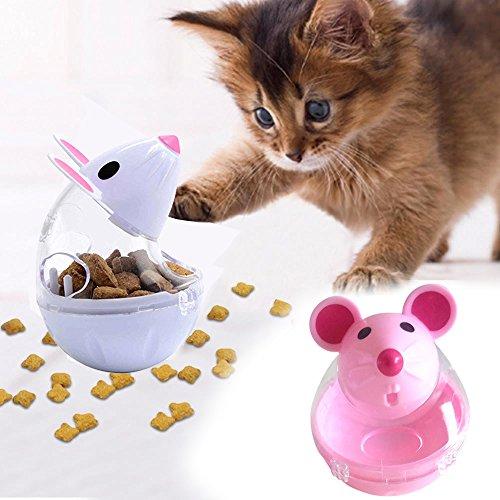 Rosepoem Chat Tumbler jouet Distributeur d'aliments...