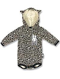 SIX Bunnies con capucha leopardo chaleco