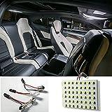 Gemini _ Mall® Innenseite Licht, 48LED 12V Strip Lampe Auto Caravan Wohnmobil Leistungsstark weiß