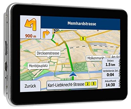 Blaupunkt-TravelPilot-EU-LMU-tragbares-Navigationssystem-der-Performance-Klasse-Cortex-A7-800-MHz-Prozessor-Touchscreen-Farbdisplay-TMC-Stauumfahrung-Lebenslange-Karten-Updates-2D-3D-Darstellung-mit-i