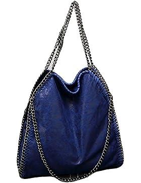 Rolanscia Damen Handtasche Elegant Kette Frauen Handtaschen Umhängetasche