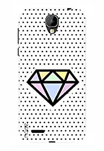 Noise Designer Printed Case / Cover for Intex Cloud Crystal 2.5D / Graffiti & Illustrations / Diamond In The Sky
