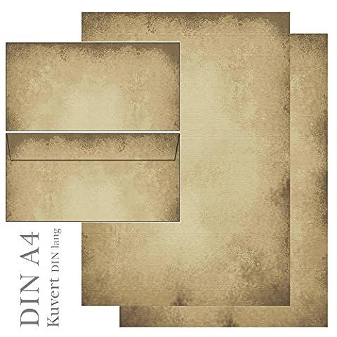 Papier A Lettre Correspondance - Ideenstadl 5605 & 6605 Set de papier