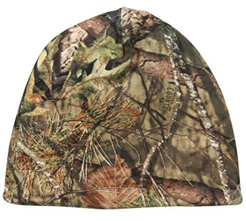 Mossy Oak Country wendbar Blaze Orange/Camo Jagd Knit Beanie - Mossy Oak Reversible Cap