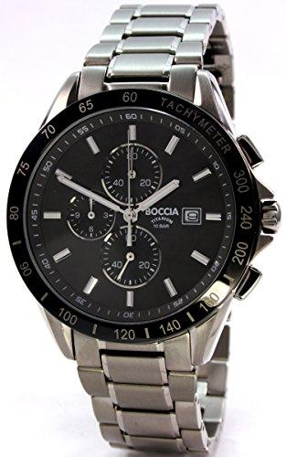 Boccia Titanium Chronograph Mens Watch 3751-02