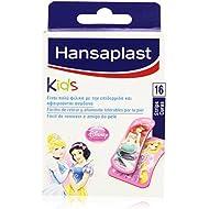 Hansaplast Kids - Curas diseño Princesas Disney - Fáciles de retirar y altamente tolerables por la piel - 16 unidades