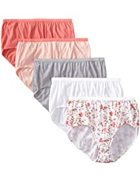 d6b2b92365 Just My Size Women s Briefs Pack of 5