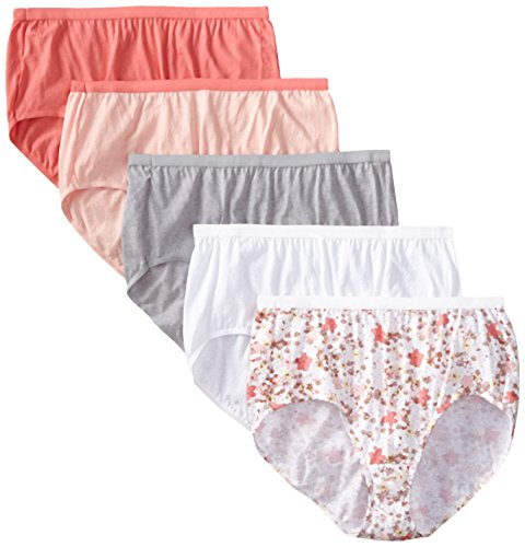 Just My Size Women's Briefs Pack of 5