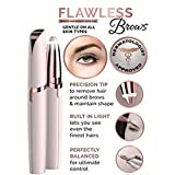 Voiks Women's Electric Hair Remover Shaver, Painless Brows Facial Fine Hair Removal Trimmer