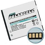 PolarCell 01000284 iones de litio 2900mAh 3.8V batería recargable - Batería/Pila recargable (iones de litio, Navegador/computadora móvil de mano/ teléfono móvil, Color blanco, Alto, Samsung GT-i9500 Galaxy S4/IV, GT-i9502 Galaxy S4 DuoS, GT-i9505 Galaxy S4 LTE)