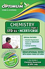 Optimum Educational Dvds HD Quality for Std 11 CBSE Chemistry Part 2