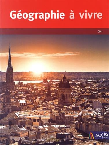 Gographie  vivre CM1 (1DVD)