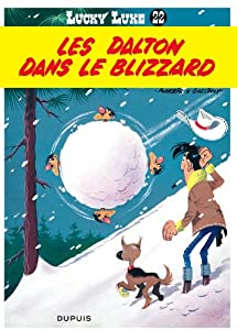"""Afficher """"Lucky Luke n° Tome 22 Les Dalton dans le blizzard"""""""