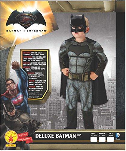 Imagen de rubies batman  disfraz batman v superman para niños, talla l, edad 7 8 años altura 128cm / cintura 56cm  alternativa